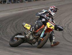 Paul Adams make new record in motor biking