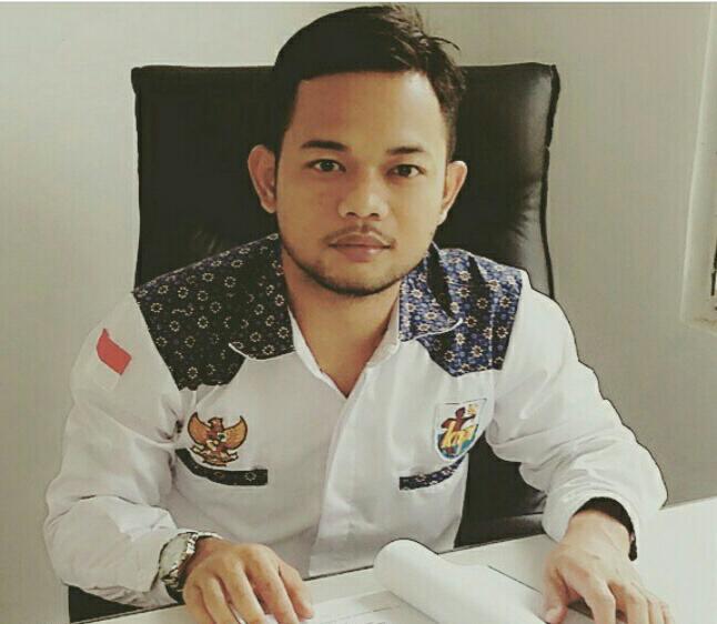 Asep Saeful Anwar mantan Sekretaris DPD KNPI Kabupaten Bekasi periode 2015 - 2018