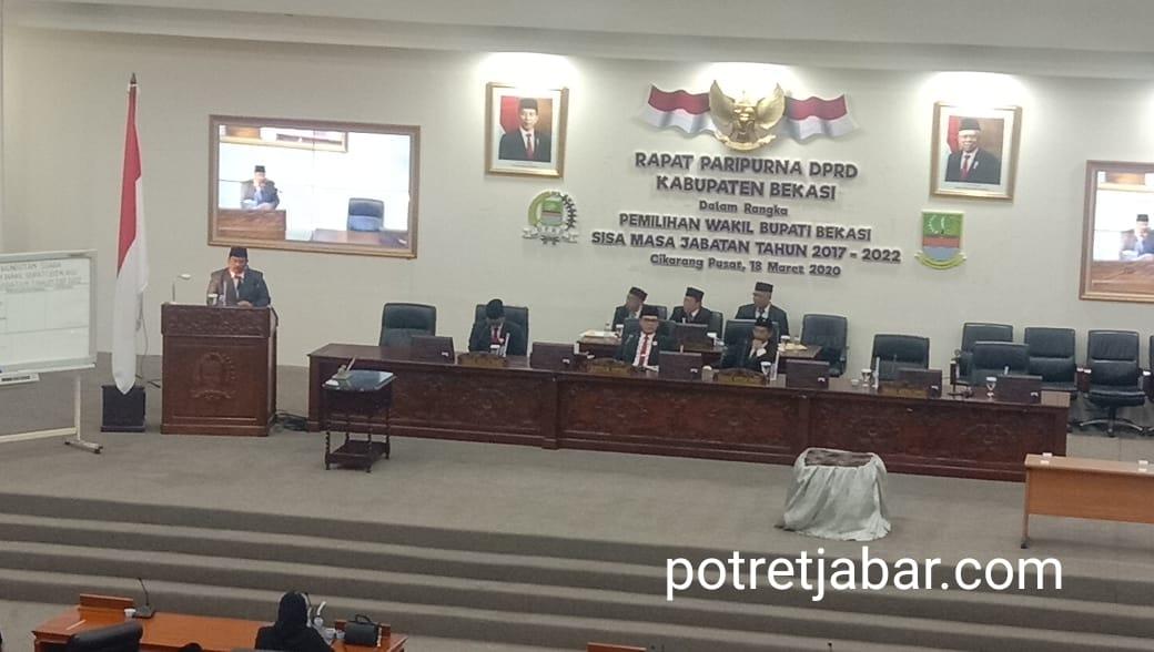 Sidang Paripurna Pemilihan Wakil Bupati