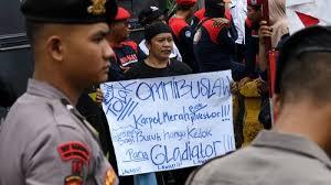 Ilustrasi : Aksi Buruh
