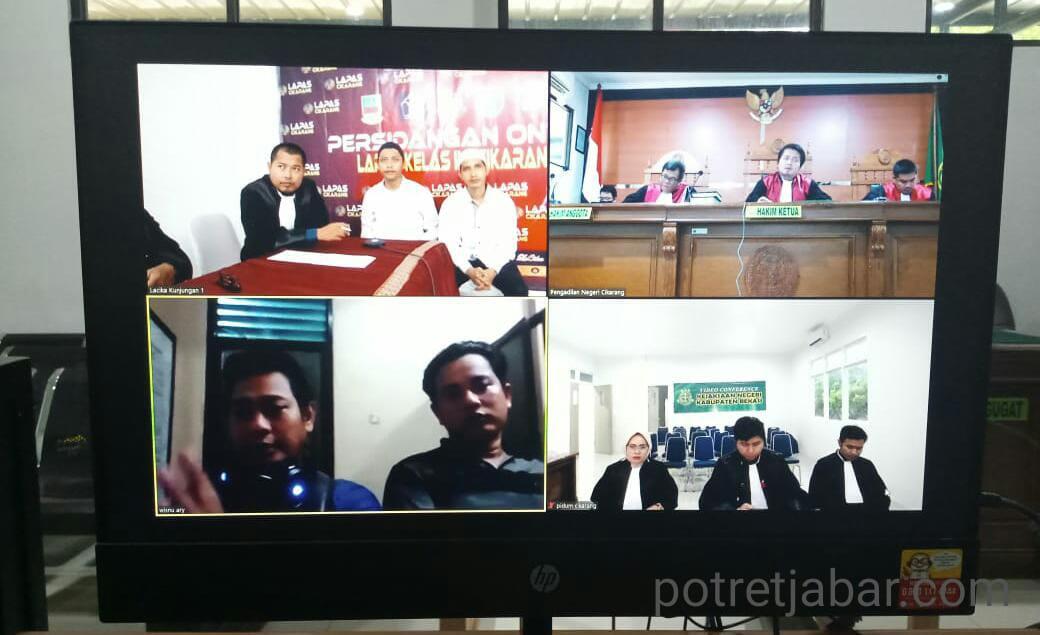 Sidang Online Kejaksaan Negeri Kabupaten Bekasi.