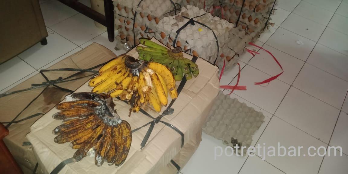 Sembako BPNT untuk KPM. (Foto :Supardi/Redaksi