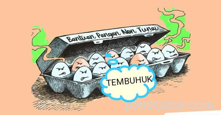 Ilustrasi : Telor Tembuhuk alias Busuk