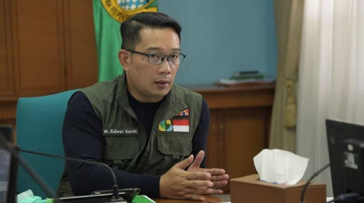 Gubernur Jawa Barat Ridwa  Kami