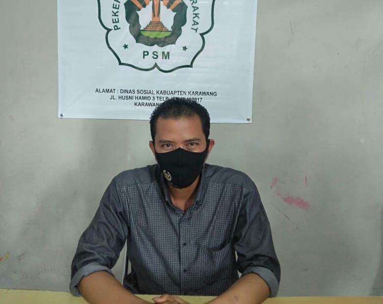 Ketua IPSM Zaenal Aripin .S.sos ,
