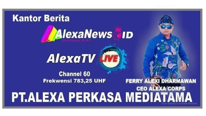 Alex sandro TV bakal Mengudara (Foto : Agus S/potretjabar)