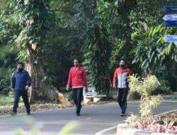 Lari Pagi di Istana, Jokowi: Olahraga Tingkatkan Imunitas