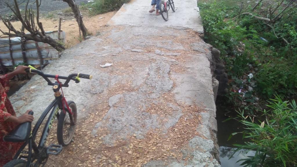 jembatan ruas jalan kong bodong