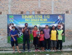Turnamen Futsal U-12 Karang Asih Jadi Ajang Silahturahmi Ciptakan Bibit Berbakat