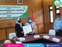 PT. BBWM MoU dengan Kejari Kabupaten Bekasi Dibidang Datun