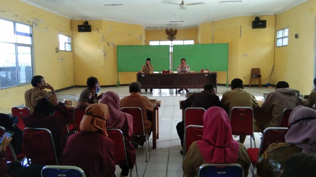 Rapat minggon Kecamatan Batujaya Jaya Kabupaten Karawang
