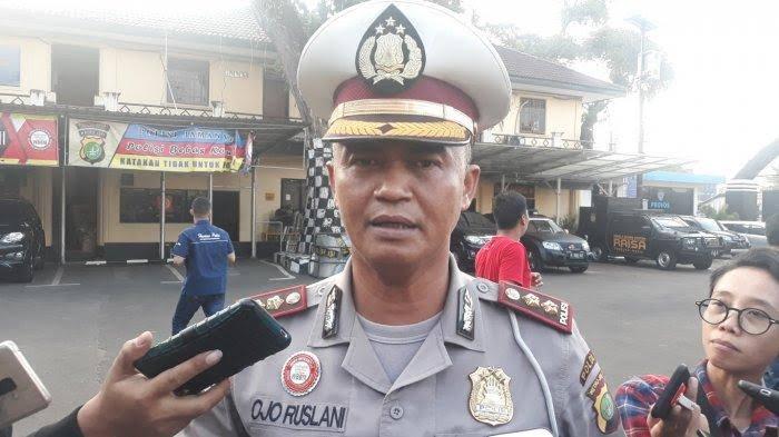 Kasat Lantas Polres Metro Bekasi, AKBP Ojo Ruslani,