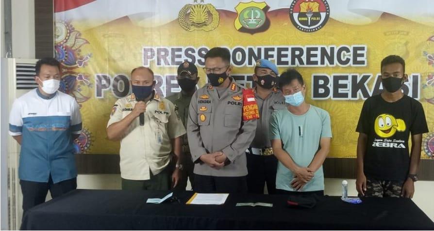 Apes, Gegara Buang Sampah di Kalimalang, Rahmat Terancam Dibui dan Denda Rp.50  Juta | Media Online Potret Jabar