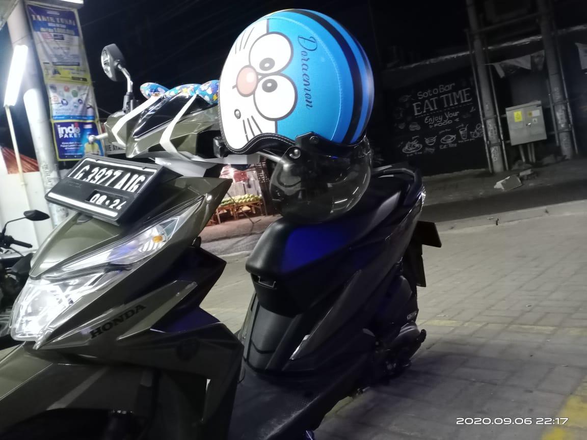 Jenis Motor Honda Bead Dengan Nopol G 3927 AIG yang berhasil digondol Curanmor