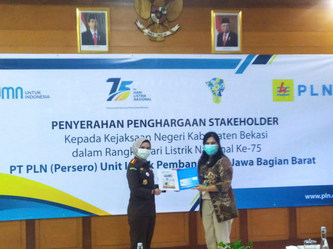 Kejaksaan Negeri Kabupaten Bekasi sebagai Stakeholder terbaik