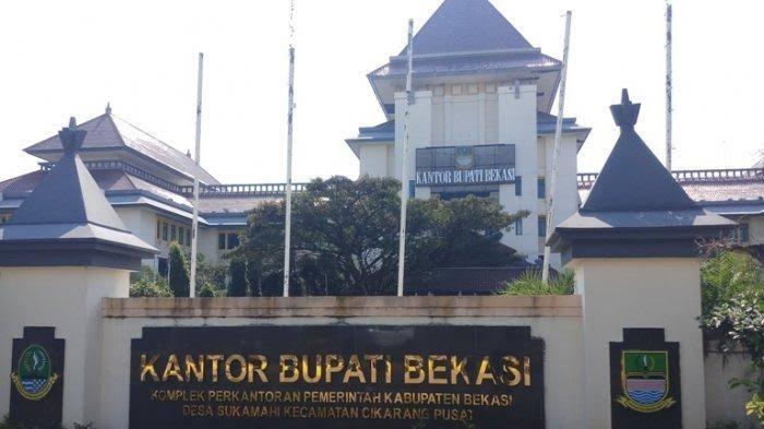 Kantor Bupati Bekasi Jawa Barat