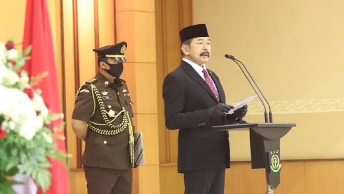 Jaksa Agung RI. ST. Burhanuddin,