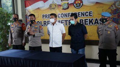 Polrestro Bekasi Menetapkan Dua Tersangka, Kasus Kerumunan Waterboom Lippo Cikarang