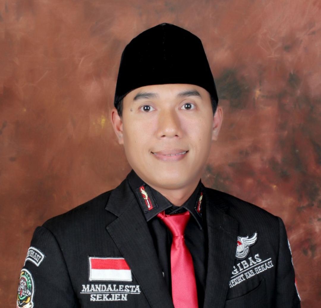 Sekjen Gibas Kabupaten Bekasi Mandalesta