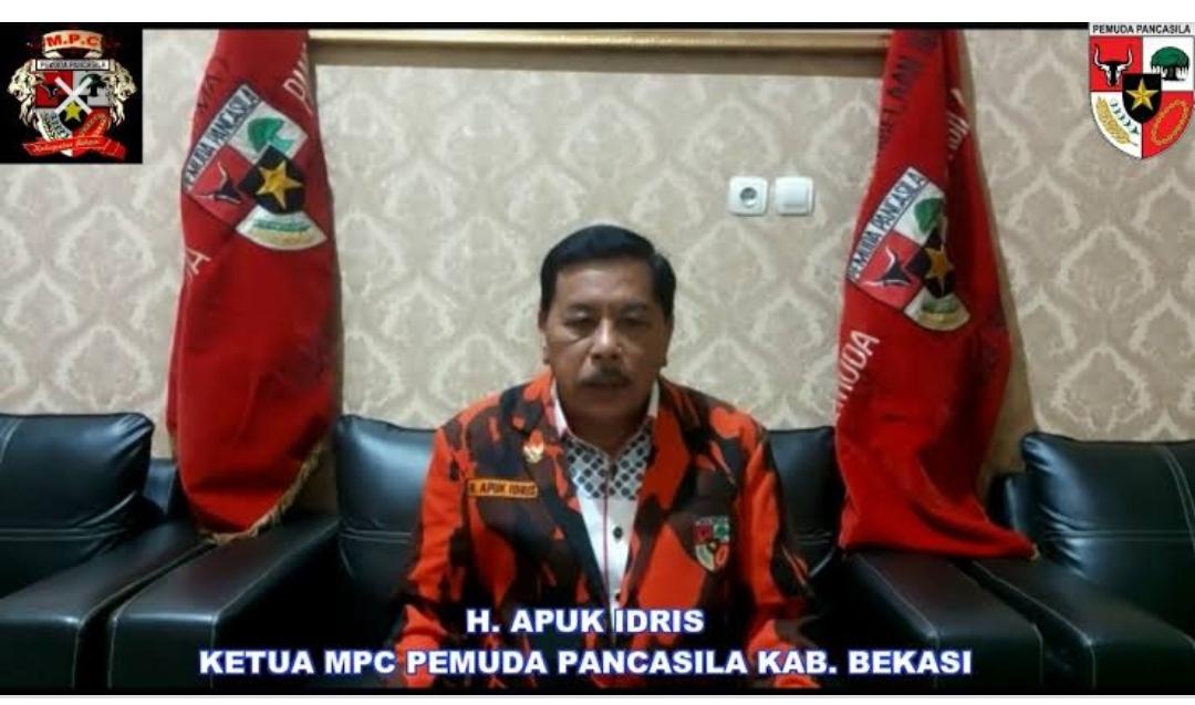 Tokoh Bekasi yang Juga Ketua MPC Pemuda Pancasila H. Apik Idris