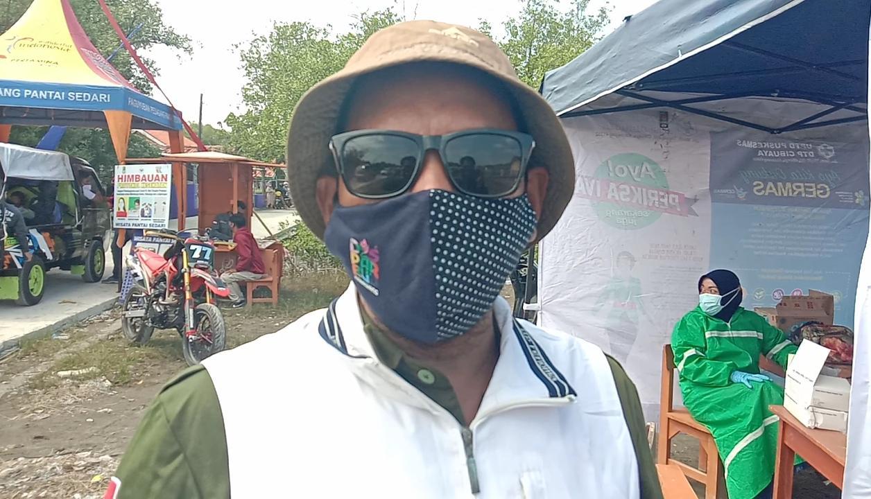 Ketua Kelompok Penggerak Pariwisata DTW Pantai Sedari Resna