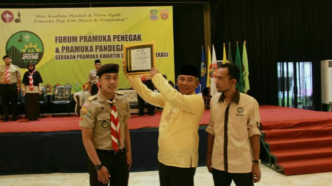 Kak Rahmat Effendi yang juga Wali Kota Bekasi