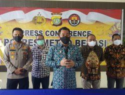 Polri Usut Korupsi Bansos Non- Tunai di Kabupaten Bekasi