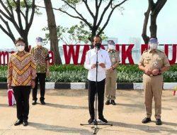 Jokowi Targetkan 100 Ribu Vaksinasi Per Hari di DKI Mulai Pekan Depan