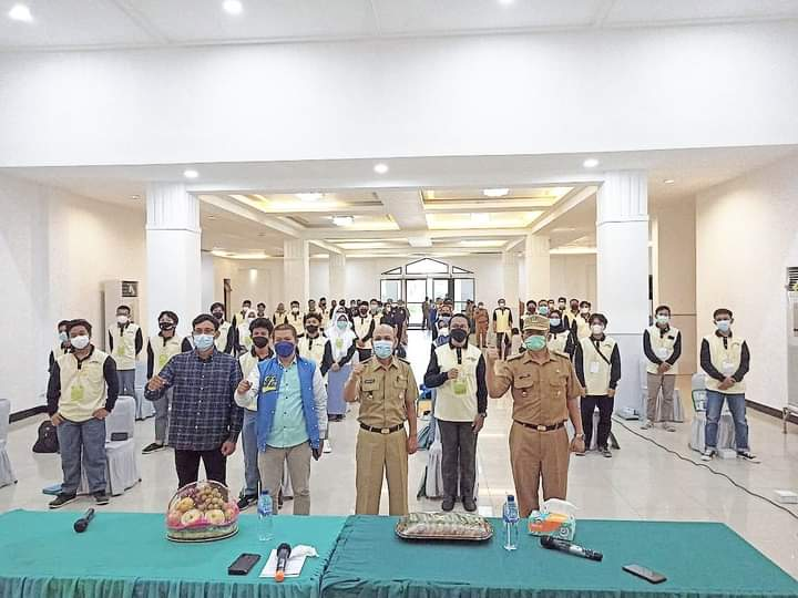 Sosialisasi Pencegahan Bahaya Pergaulan Bebas Bagi Pemuda dan Remaja yang ada di Kota Bekasi. Kegiatan Ini di selenggarakan dengan protokol kesehatan yang ketat di aula Islamic Center dalam acara sosialisasi hari ini, Senin (14/06/21).