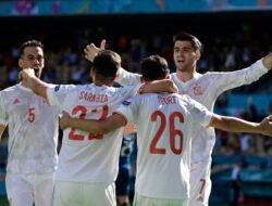 Spanyol ke Perempat Final Euro 2020 Usai Kalahkan Kroasia 5-3