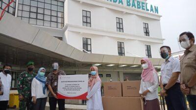 PT. CL Tbk Beri Bantuan Alkes RS Ananda Babelan