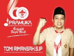HUT ke-60, Sahabat Pramuka Karawang : Semoga terus berkreasi dan berinovasi