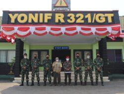 AM Muhammadiyah Majalengka Bersama Yonif Raider 321 Galuh Taruna Bahas Penanganan Covid-19