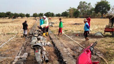 Selain Modal BUMDes, Pemdes Jatiraga manfaatkan Dana Desa Bangun Infrastruktur