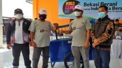 World Cleandup Day, PT. PJB Muara Tawar Mengusung Bekasi Berani untuk Indonesia Bersih