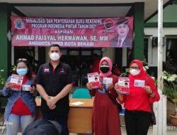DPRD Kota Bekasi Beri 1000 Burek PIP untuk Warga