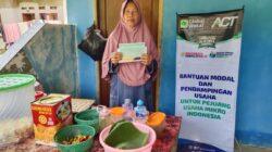 Pandemi Hajar UMKM, ACT Kabupaten Bekasi Punya Solusi dengan Bantu Permodalan